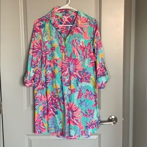 Lilly Pulitzer beach cover up